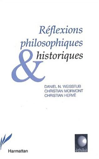 Couverture Réflexions philosophiques et historiques