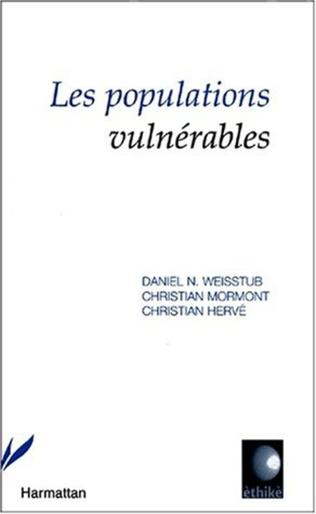 Couverture LES POPULATIONS VULNÉRABLES