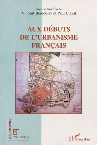 Couverture AUX DEBUTS DE L'URBANISME FRANÇAIS
