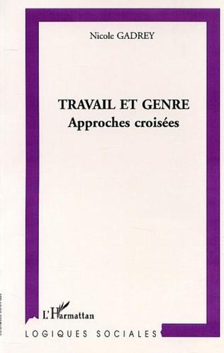 Couverture TRAVAIL ET GENRE