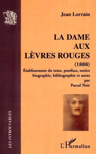 Couverture LA DAME AUX LEVRES ROUGES (1888)
