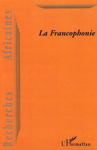 Couverture LA FRANCOPHONIE