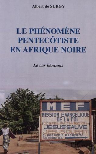 Couverture LE PHÉNOMÈNE PENTECÔTISTE EN AFRIQUE NOIRE