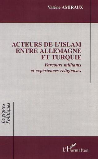 Couverture ACTEURS DE l'ISLAM ENTRE ALLEMAGNE ET TURQUIE