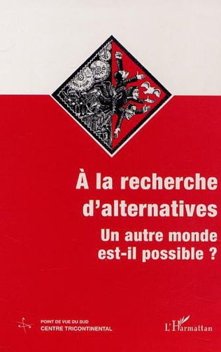 Couverture À LA RECHERCHE D'ALTERNATIVES