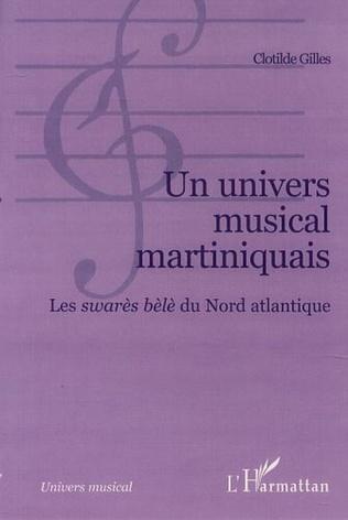 Couverture UN UNIVERS MUSICAL MARTINIQUAIS