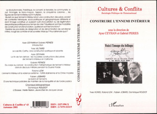 Couverture CONSTRUIRE L'ENNEMI INTÉRIEUR