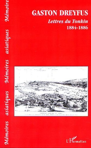Couverture LETTRES DU TONKIN 1884-188