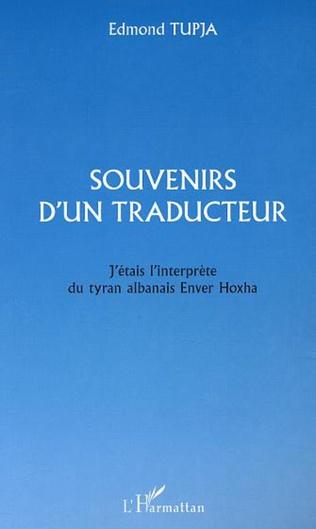 Couverture SOUVENIRS D'UN TRADUCTEUR