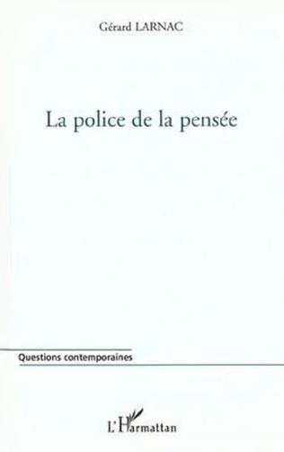 Couverture LA POLICE DE LA PENSÉE
