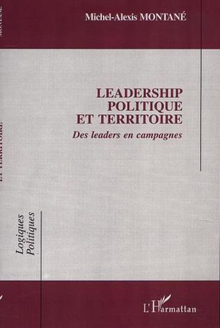 Couverture LEADERSHIP POLITIQUE ET TERRITOIRE