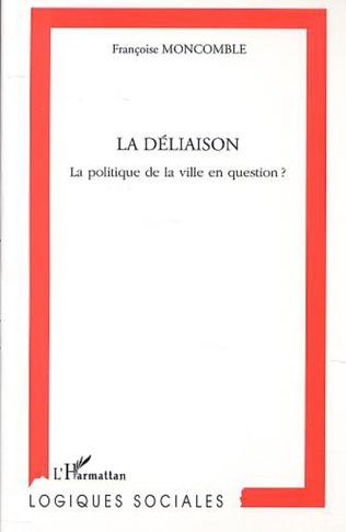 Couverture LA DÉLIAISON