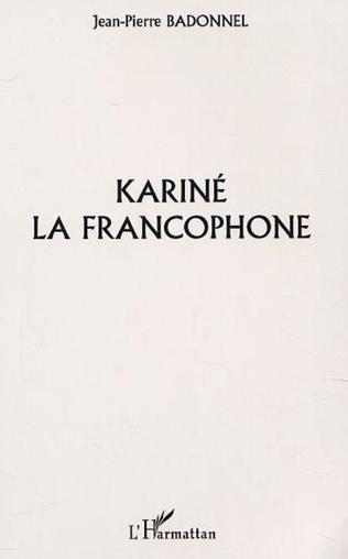 Couverture KARINÉ LA FRANCOPHONE