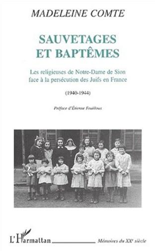 Couverture SAUVETAGES ET BAPTÊMES