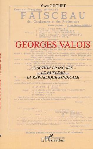Couverture GEORGES VALOIS
