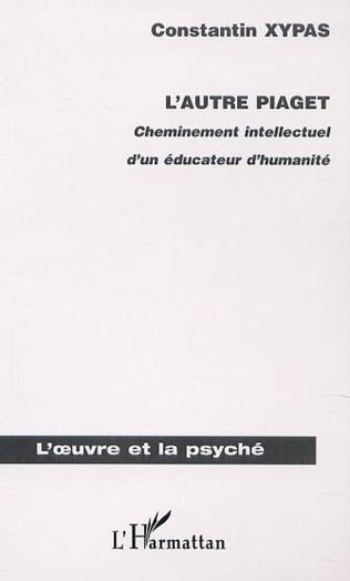 Couverture L'AUTRE PIAGET
