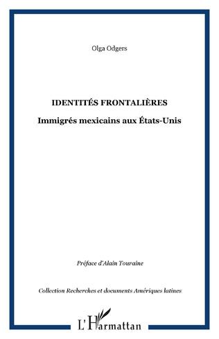 Couverture IDENTITÉS FRONTALIÈRES