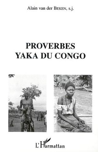 Couverture PROVERBES YAKA DU CONGO