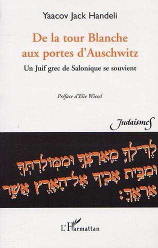 Couverture DE LA TOUR BLANCHE AUX PORTES D'AUSCHWITZ