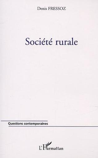 Couverture SOCIÉTÉ RURALE