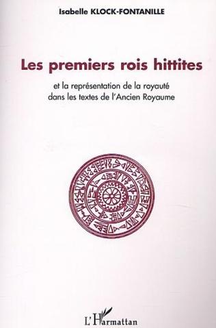 Couverture Les premiers rois Hittites