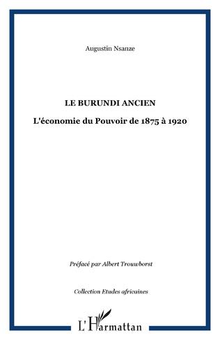 Couverture LE BURUNDI ANCIEN
