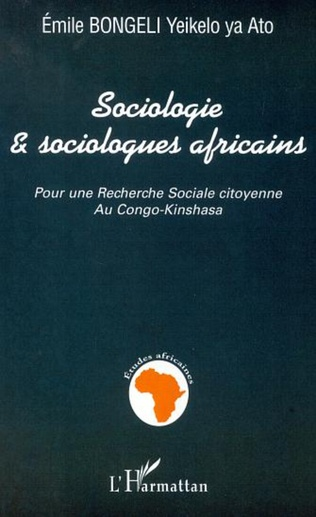 Couverture SOCIOLOGIE ET SOCIOLOGUES AFRICAINS