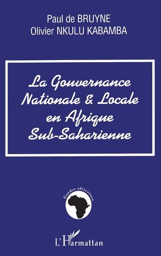 Couverture GOUVERNANCE NATIONALE ET LOCALE EN AFRIQUE SUB-SAHARIENNE
