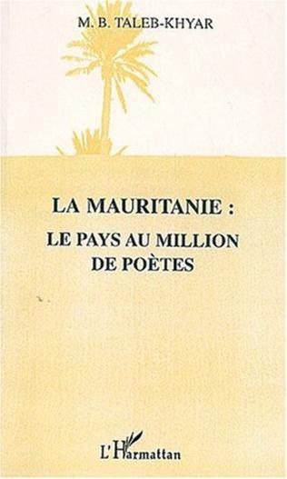 Couverture LA MAURITANIE : LE PAYS AU MILLION DE POÈTES