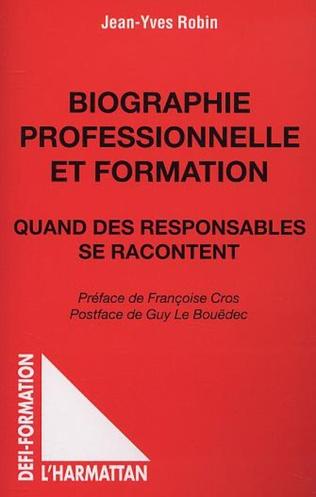 Couverture BIOGRAPHIE PROFESSIONNELLE ET FORMATION