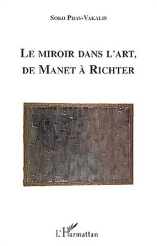 Couverture LE MIROIR DANS L'ART DE MANET A RICHTER