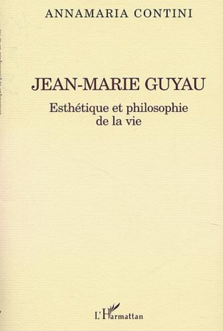 Couverture JEAN-MARIE GUYAU