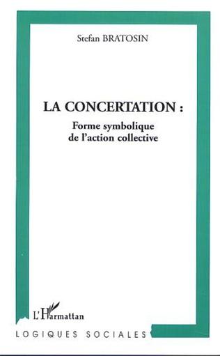 Couverture LA CONCERTATION