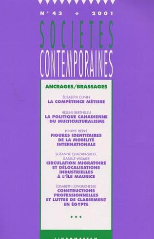 Couverture Ancrages/Brassages