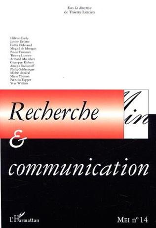 Couverture RECHERCHE et COMMUNICATION