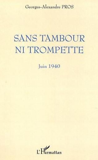 Couverture SANS TAMBOUR NI TROMPETTE