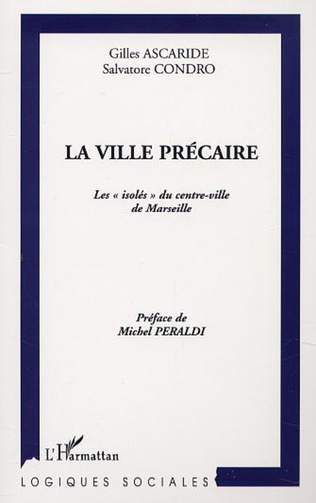 Couverture LA VILLE PRÉCAIRE