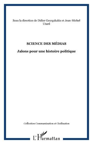 Couverture SCIENCE DES MÉDIAS