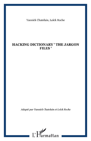 Couverture HACKING DICTIONARY