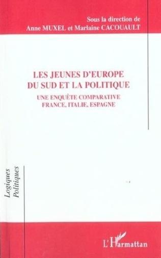 Couverture LES JEUNES D'EUROPE DU SUD ET LA POLITIQUE
