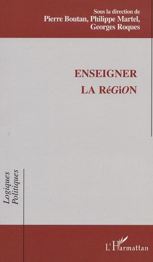 Couverture ENSEIGNER LA RÉGION