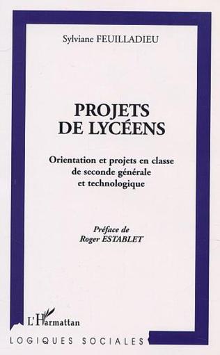 Couverture PROJETS DE LYCÉENS