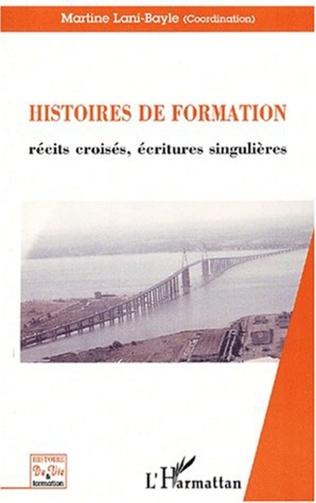 Couverture HISTOIRE DE FORMATION