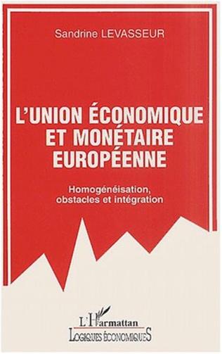 Couverture UNION ÉCONOMIQUE EUROPÉENNE