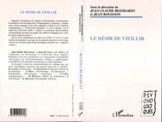 Couverture LE DÉSIR DE VIEILLIR