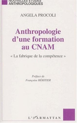 Couverture ANTHROPOLOGIE D'UNE FORMATION AU CNAM