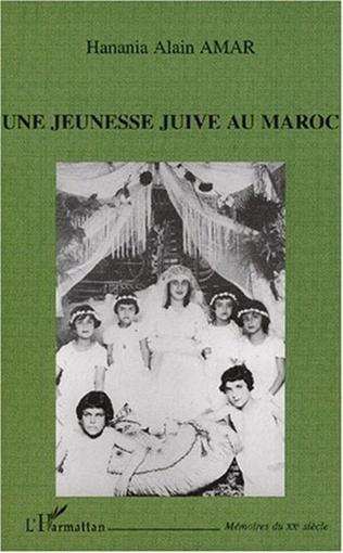 Couverture UNE JEUNESSE JUIVE AU MAROC