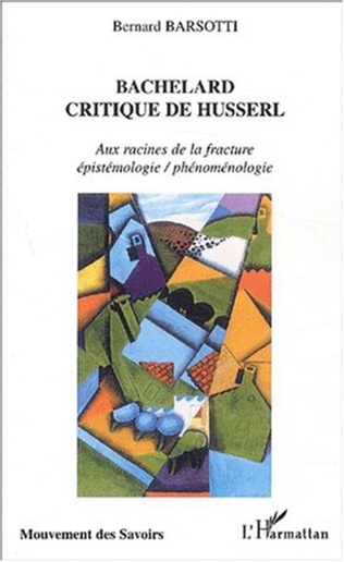 Couverture BACHELARD CRITIQUE DE HUSSERL