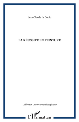 Couverture LA RÉUSSITE EN PEINTURE