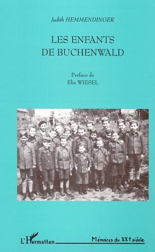 Couverture LES ENFANTS DE BUCHENWALD